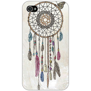 Jugaaduu Dream Catcher Back Cover Case For Apple iPhone 4 - J10097