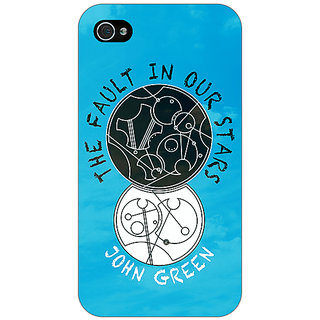 Jugaaduu TFIOS World  Back Cover Case For Apple iPhone 4 - J10114