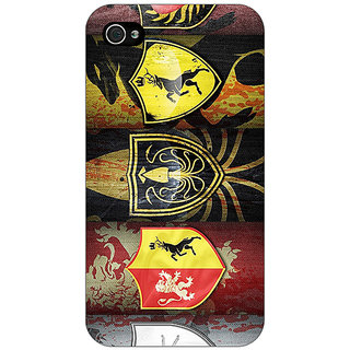 Jugaaduu Game Of Thrones GOT  Back Cover Case For Apple iPhone 4 - J10117