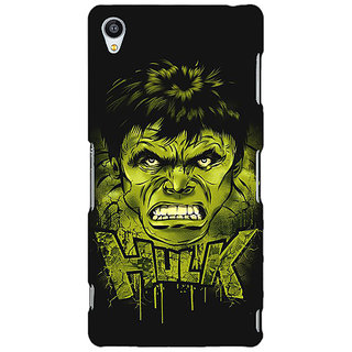 Jugaaduu Superheroes Hulk Back Cover Case For Sony Xperia Z3 - J260324
