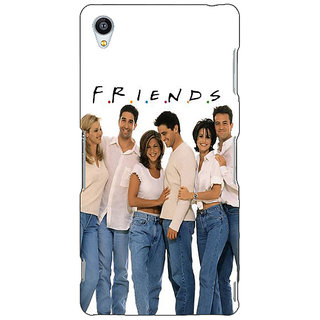 Jugaaduu TV Series FRIENDS Back Cover Case For Sony Xperia Z3 - J260345