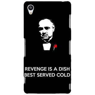 Jugaaduu The Godfather Back Cover Case For Sony Xperia Z3 - J260350