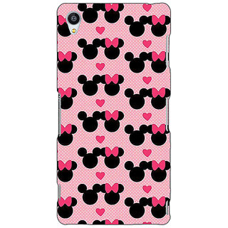 Jugaaduu Mickey Minnie Mouse Back Cover Case For Sony Xperia Z3 - J261417