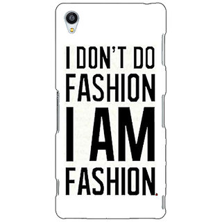 Jugaaduu Fashion Quote Back Cover Case For Sony Xperia Z3 - J261428