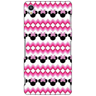 Jugaaduu Minnie Mouse Pattern Back Cover Case For Sony Xperia Z3 - J261435