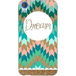 Jugaaduu Dream Back Cover Case For HTC Desire 820 - J280095