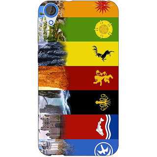 Jugaaduu Game Of Thrones GOT  Back Cover Case For HTC Desire 820 - J280118