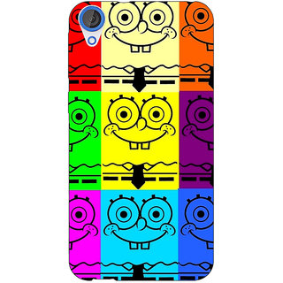 Jugaaduu Spongebob Back Cover Case For HTC Desire 820 - J280462