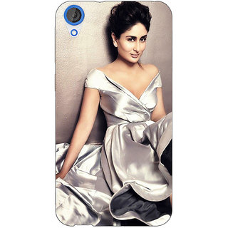 Jugaaduu Bollywood Superstar Kareena Kapoor Back Cover Case For HTC Desire 820 - J281007