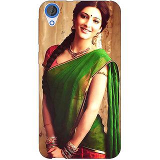 Jugaaduu Bollywood Superstar Shruti Hassan Back Cover Case For HTC Desire 820 - J281017
