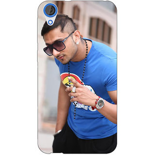 Jugaaduu Bollywood Superstar Honey Singh Back Cover Case For HTC Desire 820 - J281179