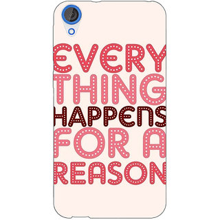 Jugaaduu Good Quote Back Cover Case For HTC Desire 820 - J281201