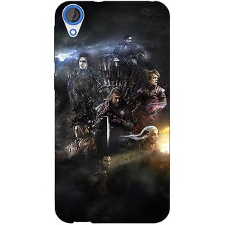 Jugaaduu Game Of Thrones GOT All Back Cover Case For HTC Desire 820 - J281535