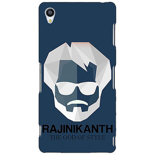 Jugaaduu Rajni Rajanikant Back Cover Case For Sony Xperia Z3 - J261482