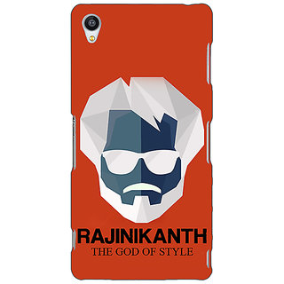 Jugaaduu Rajni Rajanikant Back Cover Case For Sony Xperia Z3 - J261484