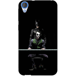 Jugaaduu Superheroes Batman Dark knight Back Cover Case For HTC Desire 820Q - J290017