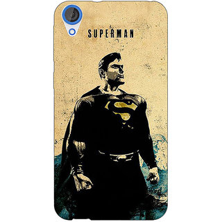 Jugaaduu Superheroes Superman Back Cover Case For HTC Desire 820Q - J290027