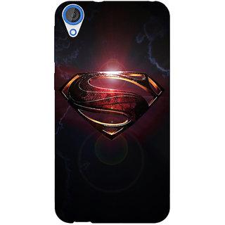 Jugaaduu Superheroes Superman Back Cover Case For HTC Desire 820Q - J290035