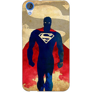Jugaaduu Superheroes Superman Back Cover Case For HTC Desire 820Q - J290040
