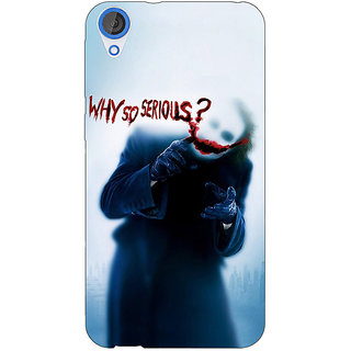 Jugaaduu Villain Joker Back Cover Case For HTC Desire 820Q - J290041