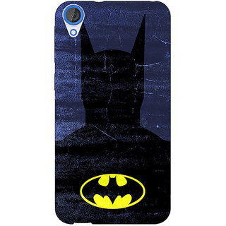 Jugaaduu Superheroes Batman Dark knight Back Cover Case For HTC Desire 820Q - J290042