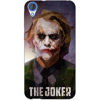 Jugaaduu Villain Joker Back Cover Case For HTC Desire 820Q - J290049