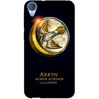 Jugaaduu Game Of Thrones GOT House Arryn  Back Cover Case For HTC Desire 820 - J280170