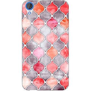 Jugaaduu Morrocan Pattern Back Cover Case For HTC Desire 820 - J280224