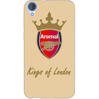 Jugaaduu Arsenal Back Cover Case For HTC Desire 820 - J280503