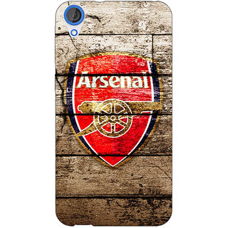 Jugaaduu Arsenal Back Cover Case For HTC Desire 820 - J280507