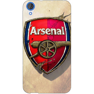 Jugaaduu Arsenal Back Cover Case For HTC Desire 820 - J280515