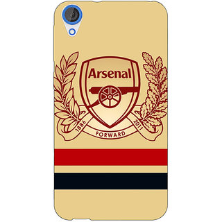 Jugaaduu Arsenal Back Cover Case For HTC Desire 820 - J280519