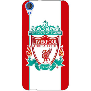 Jugaaduu Liverpool Back Cover Case For HTC Desire 820 - J280544