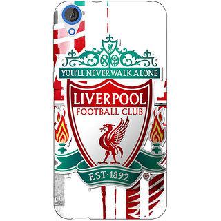 Jugaaduu Liverpool Back Cover Case For HTC Desire 820 - J280549