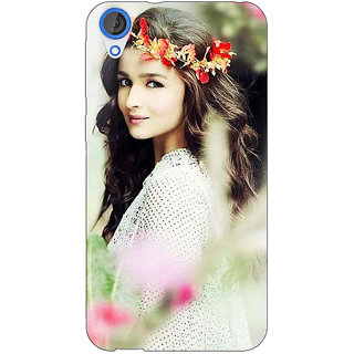 Jugaaduu Bollywood Superstar Alia Bhatt Back Cover Case For HTC Desire 820 - J281028