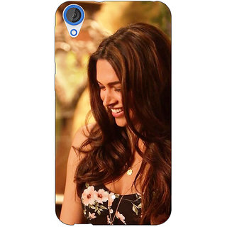 Jugaaduu Bollywood Superstar Deepika Padukone Back Cover Case For HTC Desire 820 - J281032
