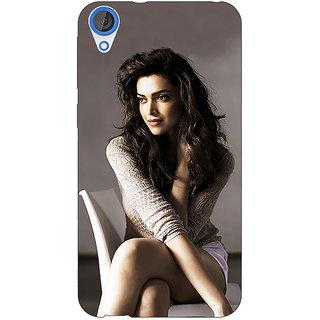 Jugaaduu Bollywood Superstar Deepika Padukone Back Cover Case For HTC Desire 820 - J281038