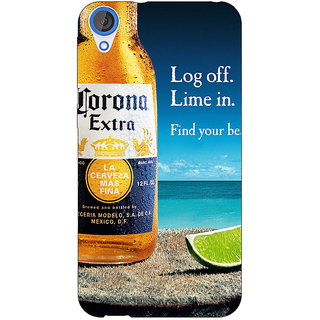 Jugaaduu Corona Beer Back Cover Case For HTC Desire 820 - J281237