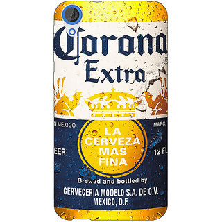 Jugaaduu Corona Beer Back Cover Case For HTC Desire 820 - J281238