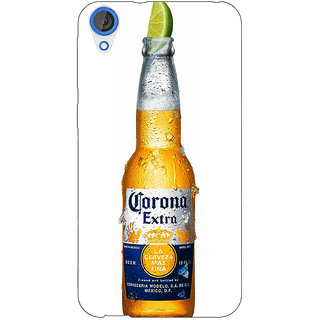 Jugaaduu Corona Beer Back Cover Case For HTC Desire 820 - J281247