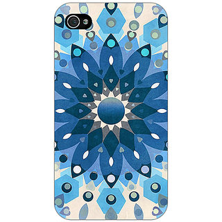Jugaaduu Dream Flower Pattern Back Cover Case For Apple iPhone 4 - J10255