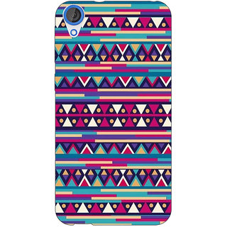 Jugaaduu Aztec Girly Tribal Back Cover Case For HTC Desire 820Q - J290052
