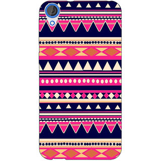 Jugaaduu Aztec Girly Tribal Back Cover Case For HTC Desire 820Q - J290053