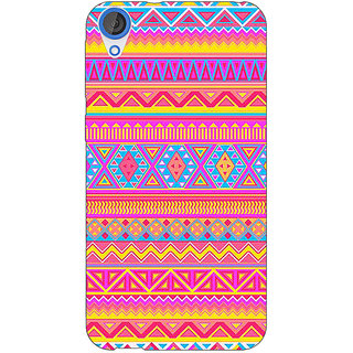 Jugaaduu Aztec Girly Tribal Back Cover Case For HTC Desire 820Q - J290072