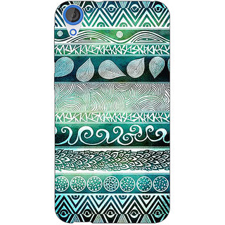 Jugaaduu Aztec Girly Tribal Back Cover Case For HTC Desire 820Q - J290076