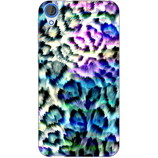Jugaaduu Cheetah Leopard Print Back Cover Case For HTC Desire 820Q - J290081