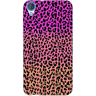 Jugaaduu Cheetah Leopard Print Back Cover Case For HTC Desire 820Q - J290083
