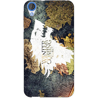 Jugaaduu Game Of Thrones GOT House Stark  Back Cover Case For HTC Desire 820Q - J290124