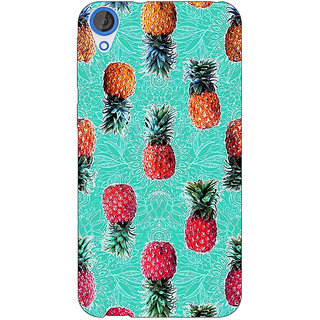 Jugaaduu Pineapple Pattern Back Cover Case For HTC Desire 820 - J280246