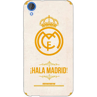 Jugaaduu Real Madrid Back Cover Case For HTC Desire 820 - J280593